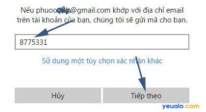 Hướng dẫn cách lấy lại tài khoản Microsoft 5