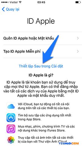 Cách Active, kích hoạt điện 7 thoại iPhone 10
