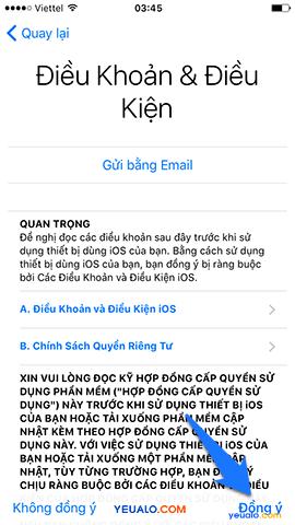 Cách Active, kích hoạt điện thoại iPhone 12