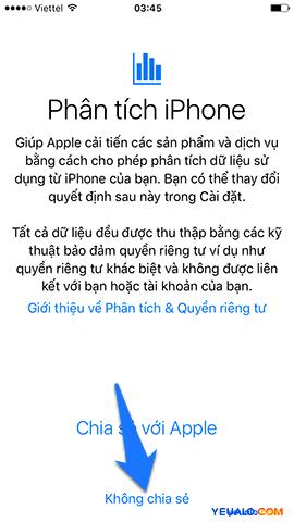 Cách Active, kích hoạt điện thoại iPhone 13