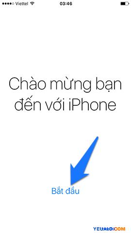 Cách Active, kích hoạt điện thoại iPhone 16