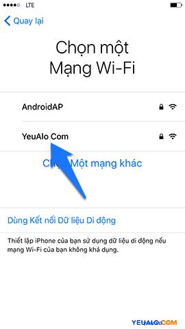 Cách Active, kích hoạt điện thoại iPhone 4