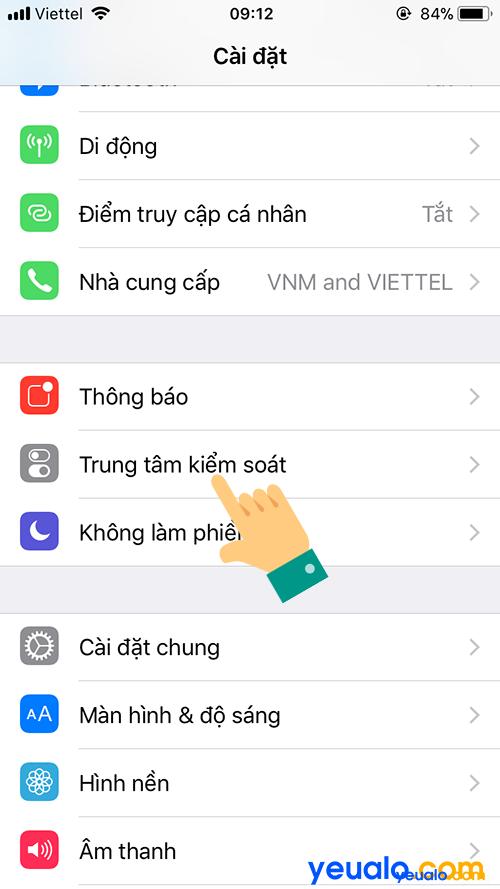 Cách quay màn hình iPhone 7 2