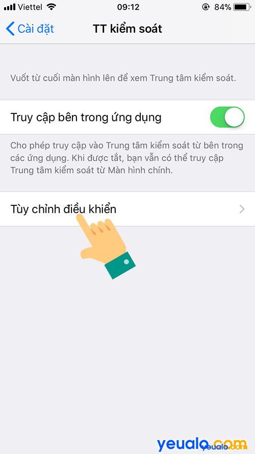 Cách quay màn hình iPhone 7 3