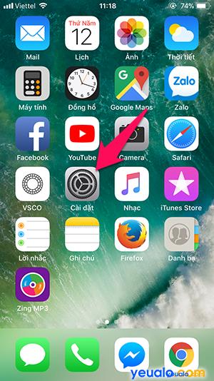 Cách Bật Tắt Tìm iPhone 1