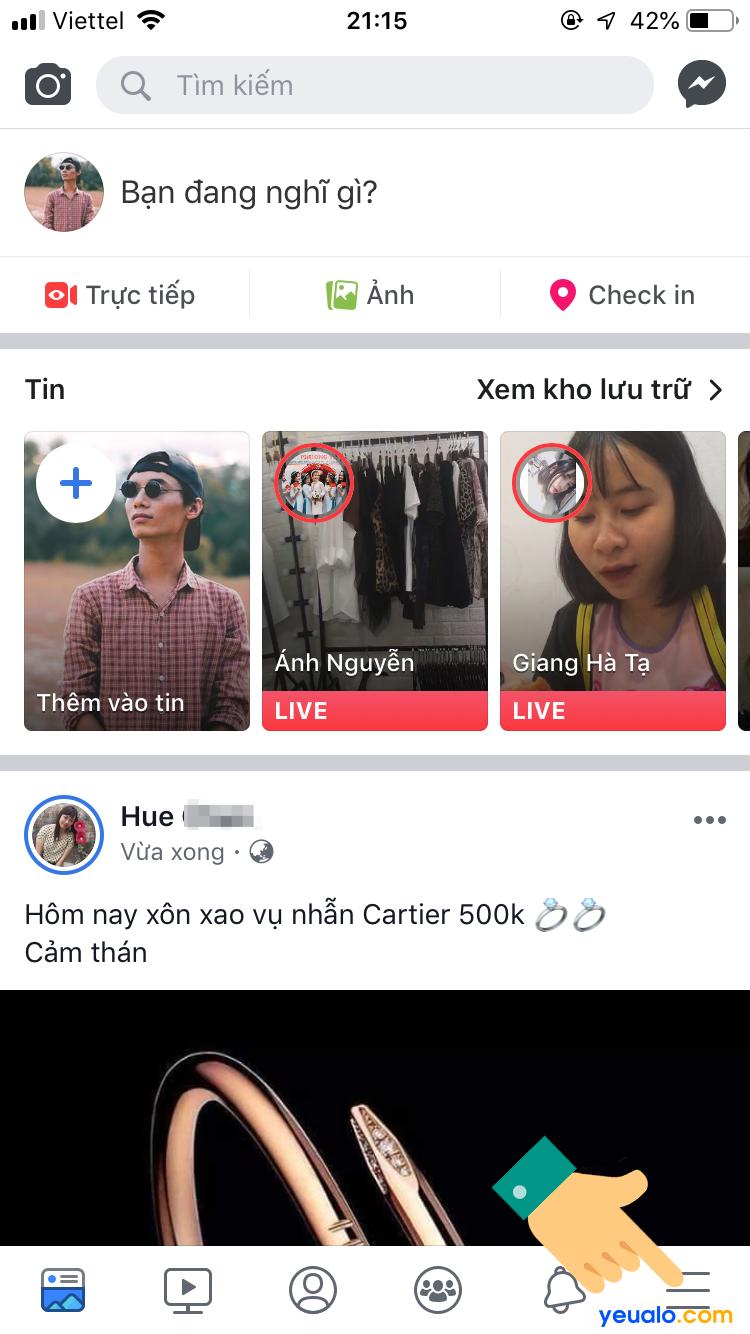 Cách ẩn danh sách bạn bè Facebook trên iPhone