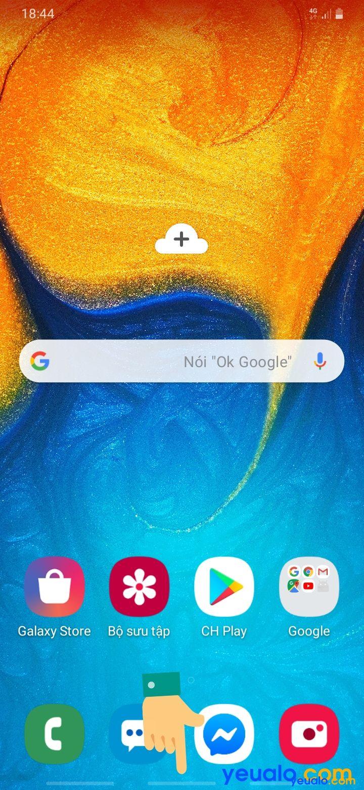 Cách ẩn thanh điều hướng Samsung 5