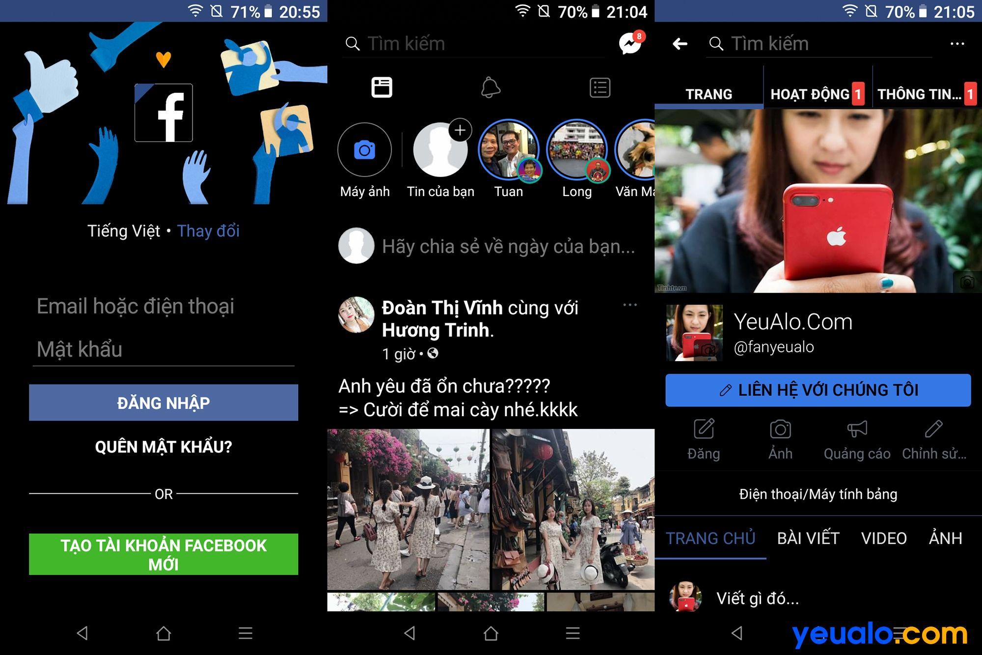 Cách bật chế độ Dark Mode cho Facebook trên Android