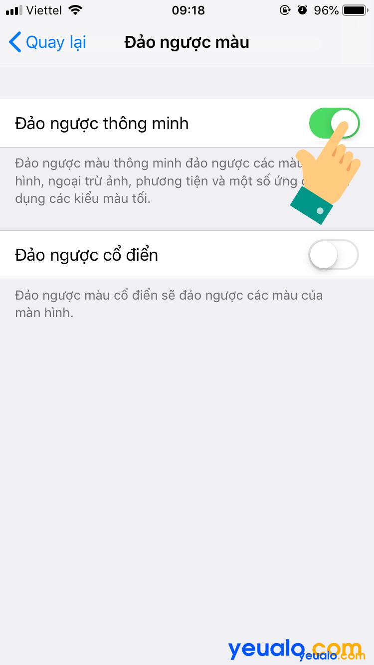 Cách bật chế độ Dark Mode cho Facebook trên iPhone 6