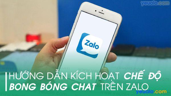 Cách bật chế độ Mini chat trên Zalo
