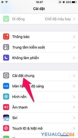Cách bật nút Home ảo cho iPhone 2