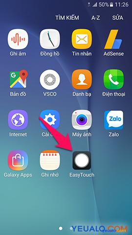 Cách cài nút Home ảo cho Android 1