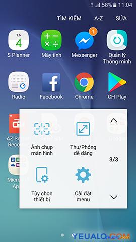 Cách bật nút Home ảo cho Samsung Galaxy 6