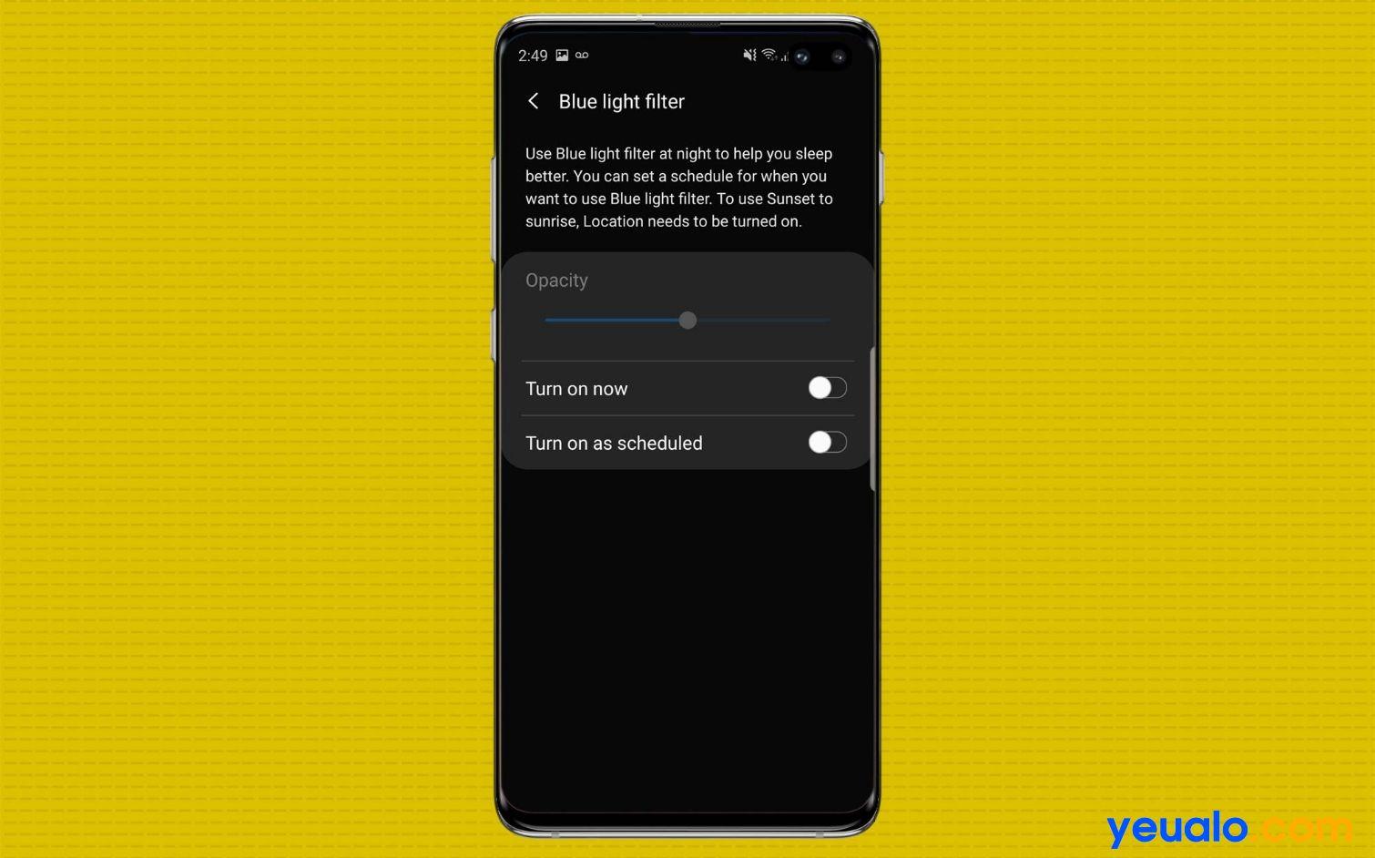 Cách bật tắt 10 tính năng hot trên Samsung Galaxy S10