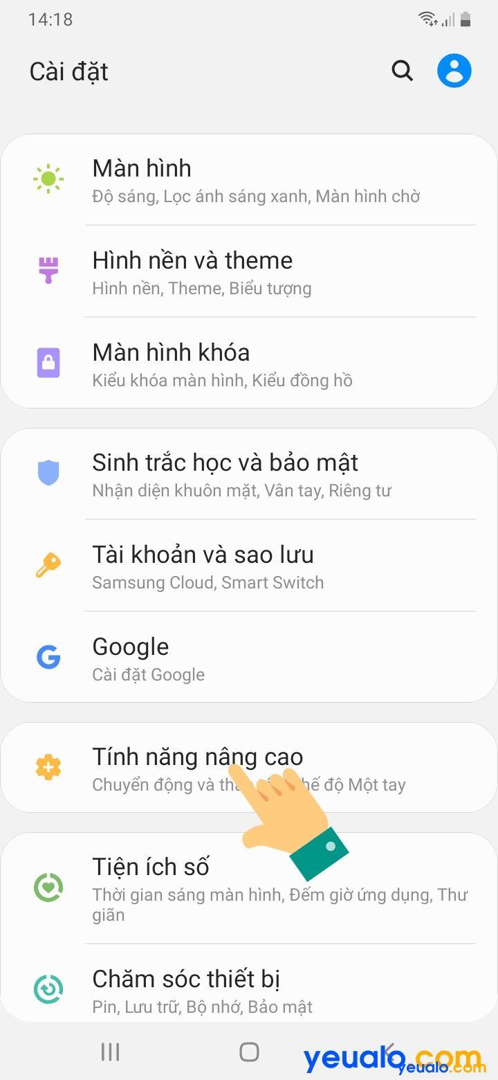Cách bật tính năng Dual Messenger trên Samsung 2