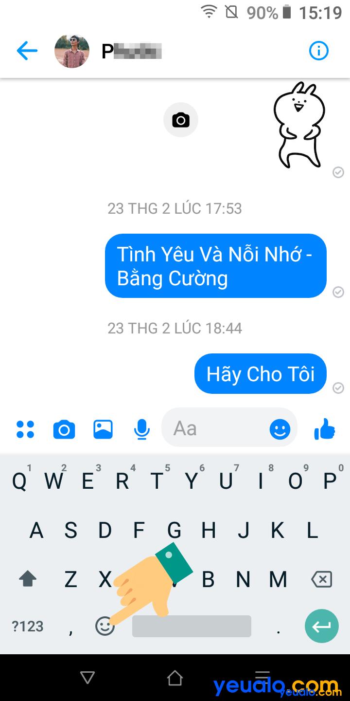 Cách cài chế độ tối cho Messenger điện thoại Android