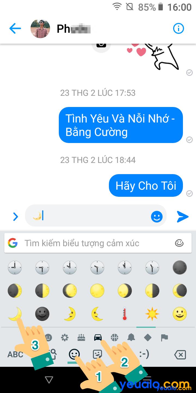 Cách cài chế độ tối cho Messenger điện thoại Android 2