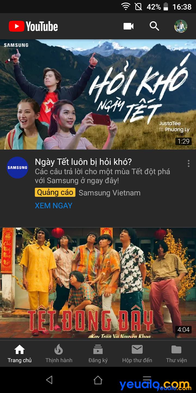 Cách cài giao diện tối cho Youtube trên điện thoại 5