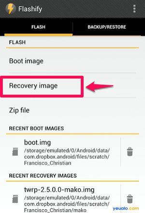Cách cài đặt TWRP Recovery cho điện thoại Android không cần máy tính 5