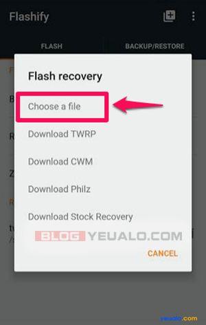 Cách cài đặt TWRP Recovery cho điện thoại Android không cần máy tính 6