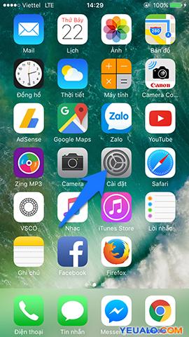 Cách cài đặt đèn flash nháy sáng khi có tin nhắn, cuộc gọi trên iPhone 1