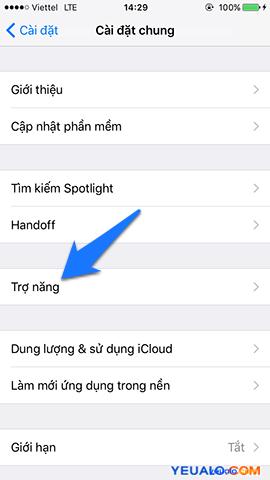 Cách cài đặt đèn flash nháy sáng khi có tin nhắn, cuộc gọi trên iPhone 3