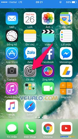 Cách cài mật khẩu mở khóa màn hình bằng vân tay trên điện thoại iPhone 1