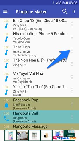 Hướng dẫn cách cài đặt nhạc chuông cho điện thoại Samsung Galaxy 9