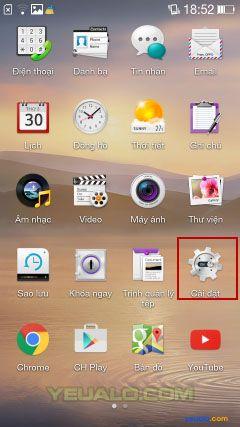 Cách cài đặt nhạc chuông điện thoại Oppo 1