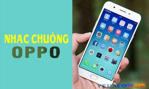 Cách cài đặt nhạc chuông điện thoại Oppo