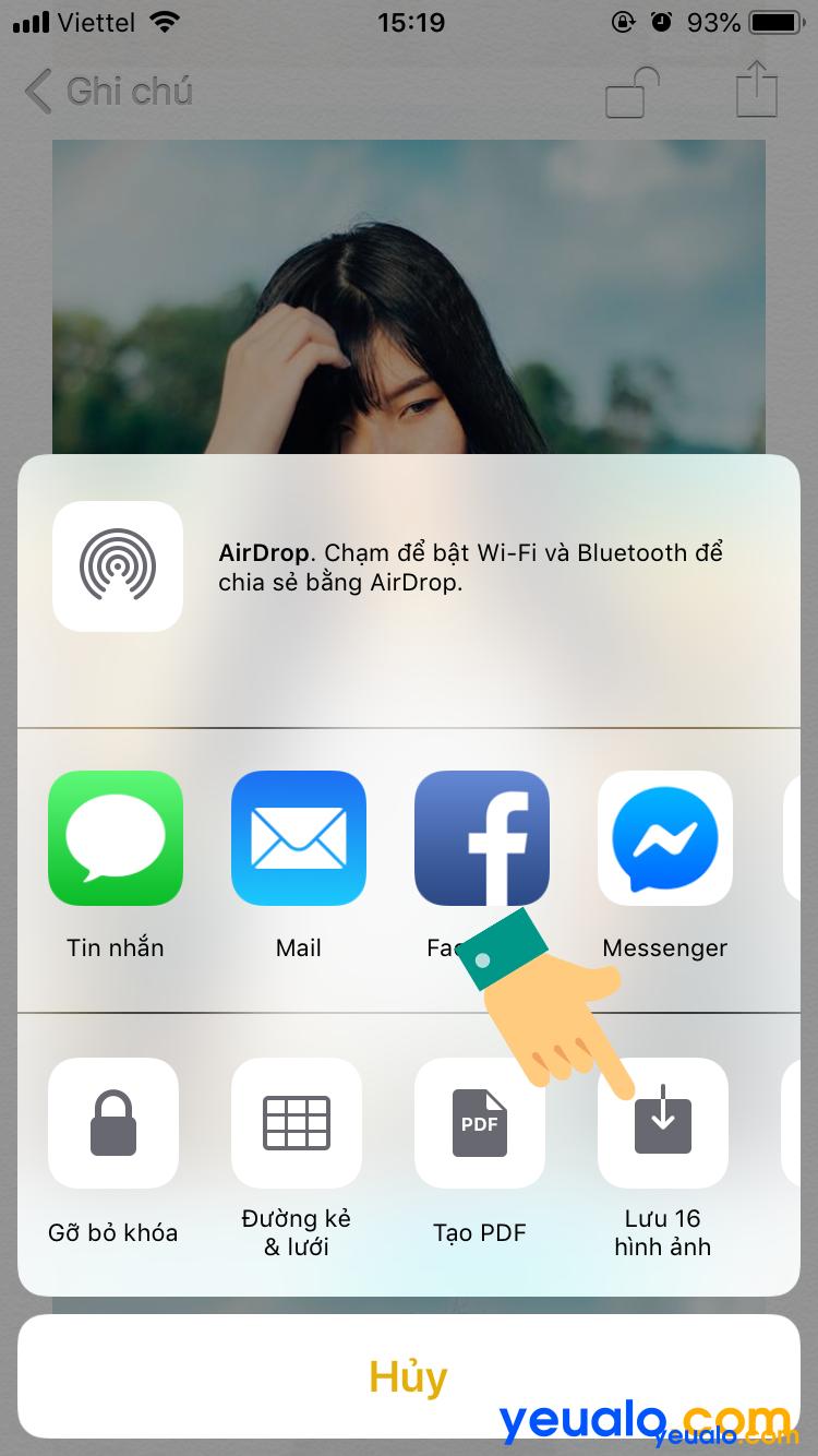 Cách mở khóa mật khẩu cho hình ảnh trên iPhone 14