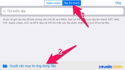 Cách cài nhạc chuông iPhone bằng điện thoại 13