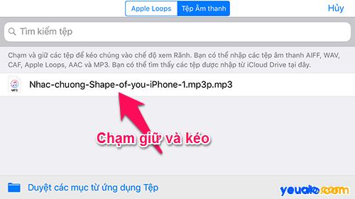 Cách cài nhạc chuông iPhone bằng điện thoại 17
