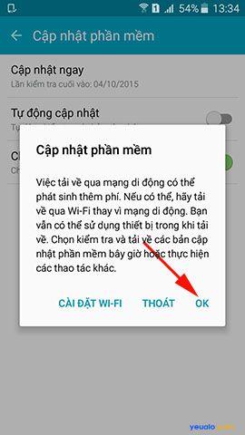 Cách cập nhật hệ điều hành Android lên phiên bản mới nhất 5