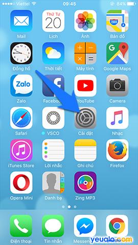 Cách cập nhật hệ điều hành iOS lên phiên bản mới nhất cho iPhone iPad 1