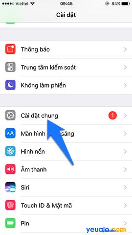 Cách cập nhật hệ điều hành iOS lên phiên bản mới nhất cho iPhone iPad 2