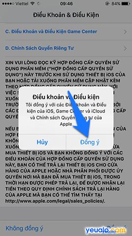 Cách cập nhật hệ điều hành iOS lên phiên bản mới nhất cho iPhone iPad 5