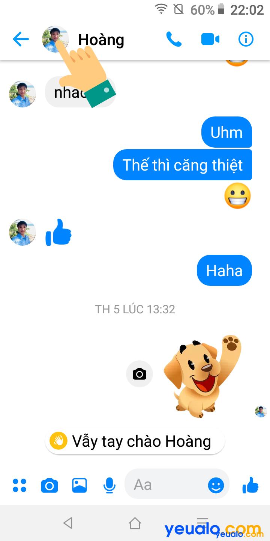 Cách chặn cuộc gọi trên Messenger