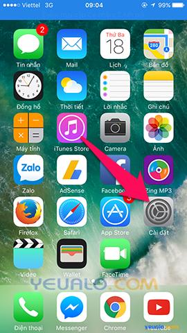 Cách chặn cuộc gọi trên điện thoại iPhone b1