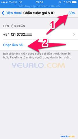 Cách chặn cuộc gọi trên điện thoại iPhone b4