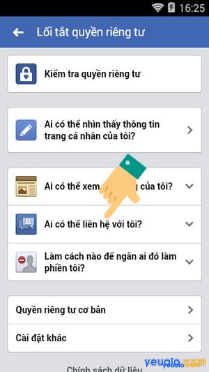 Cách chặn người lạ kết bạn trên Facebook bằng điện thoại 4