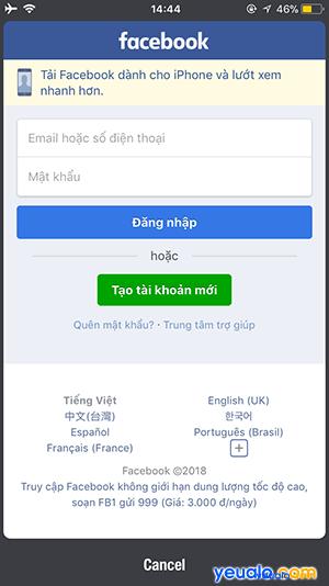 Cách nhắn tin Facebook mà không cần cài đặt Messenger trên điện thoại 8