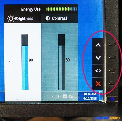 Cách điều chỉnh độ sáng màn hình máy tính bàn PC 2