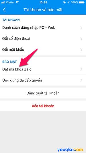 Cách chống đọc xem trộm tin nhắn trên Zalo 12