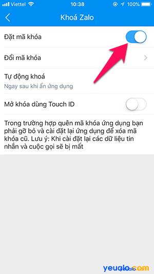 Cách chống đọc xem trộm tin nhắn trên Zalo 13