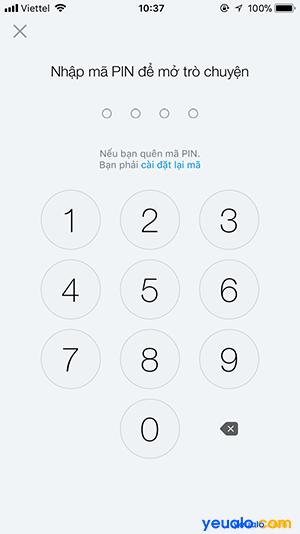 Cách chống đọc xem trộm tin nhắn trên Zalo 6