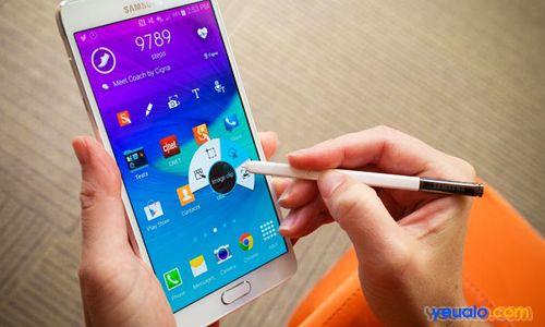 Cách chụp ảnh màn hình điện thoại Samsung Galaxy