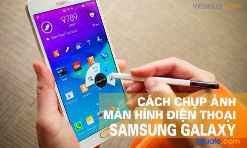 Cách chụp màn hình Samsung J2, J3, J4, J5, J6, J7 Prime, A6, A8, Note 8, S8 Plus…