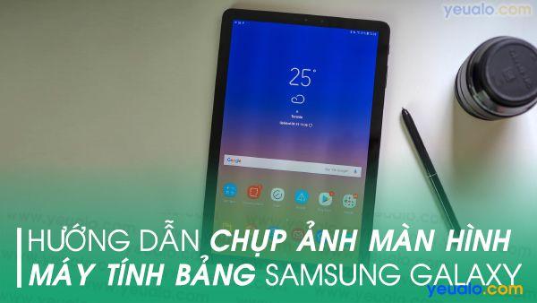 Cách chụp màn hình Samsung A80