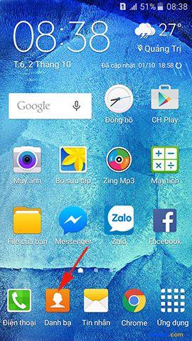 Cách chuyển danh bạ từ điện thoại Lumia sang điện thoại Samsung Galaxy 6